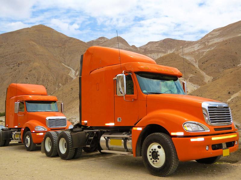 Camiones luces
